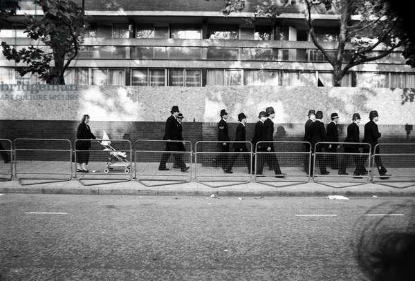 Notting Hill Carny MET, 1989 (b/w photo)