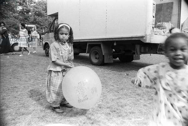 Mosside Kids 2, 1989 (b/w photo)