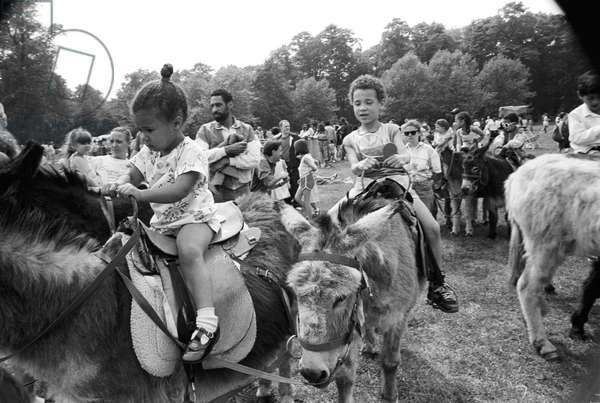 Mosside Kids 1, 1989 (b/w photo)