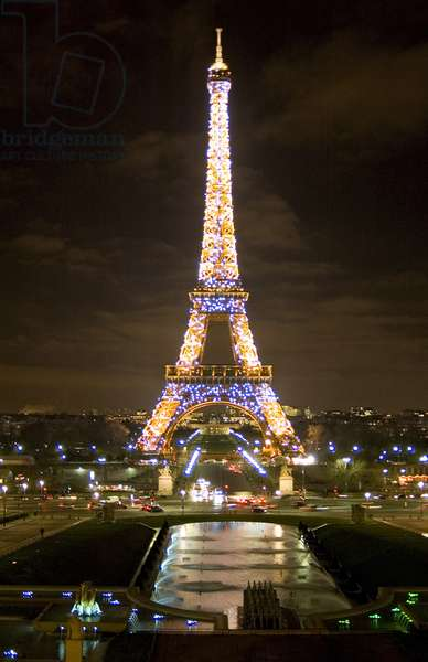 Eiffel Tower Illumination, 2006 (photo)