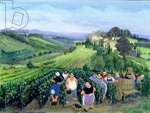 Chianti Landscape (oil on canvas)