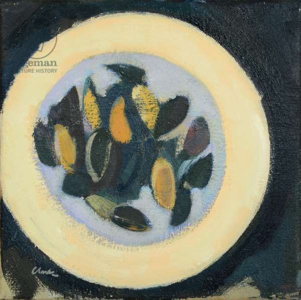 Moules, 2017 (oil on linen)