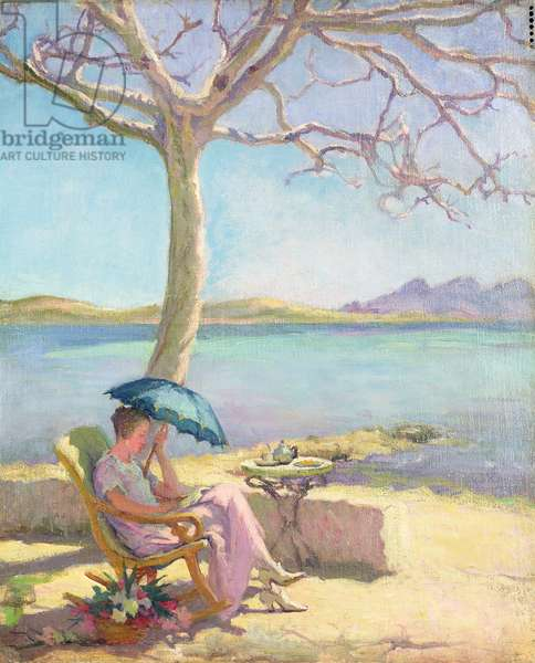 Midday Sun (oil on canvas)