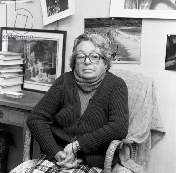 Marguerite Duras, 1984 (photo)