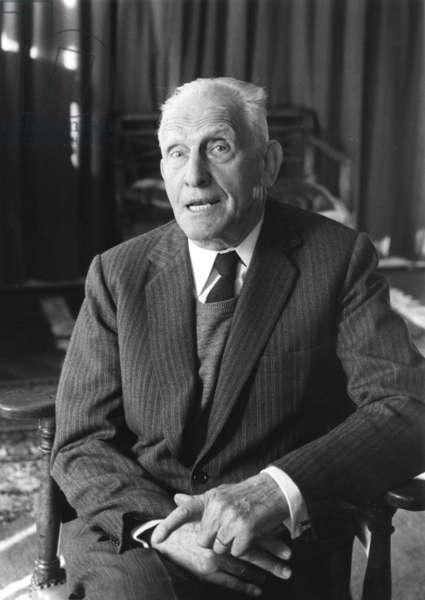 Professor Paul Milliez (b/w photo)