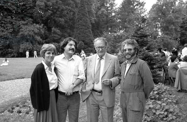 Anne Sarraute, Olivier Maurice, Nadeau and Jean-Jacques Lebel