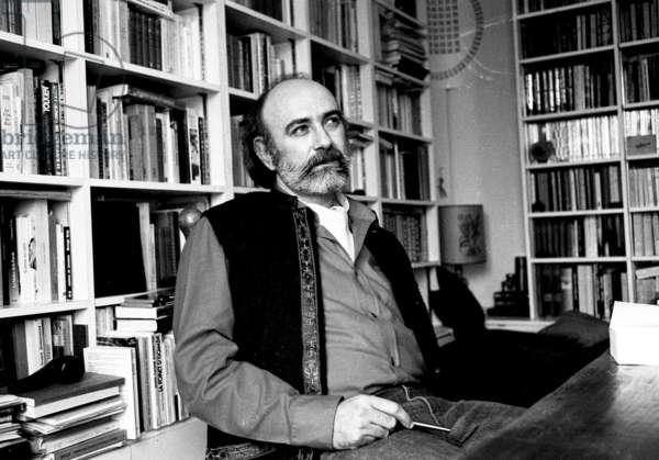 Henri Gougaud, 1982 (b/w photo)