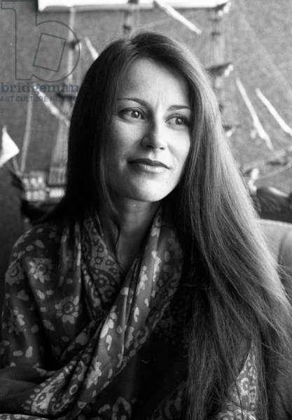 Irene Frain, 1982 (b/w photo)