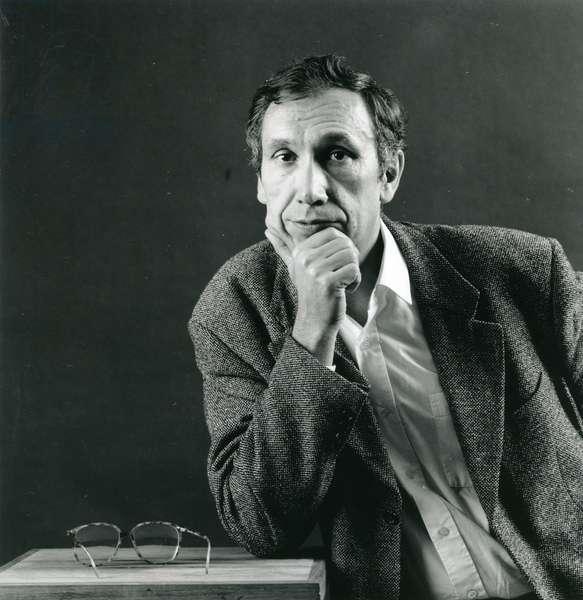 Alain Renaut (b/w photo)