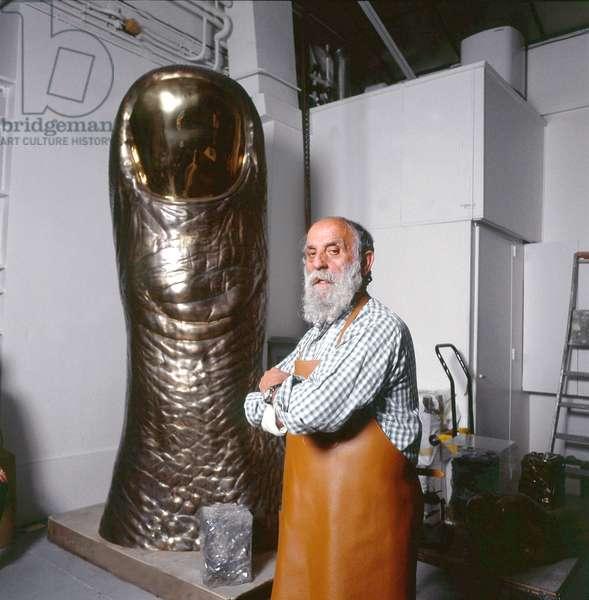 Cesar Baldaccini, 1991 (photo)