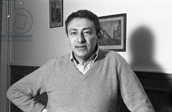Sergius Dubrovsky, 1982 (b/w photo)