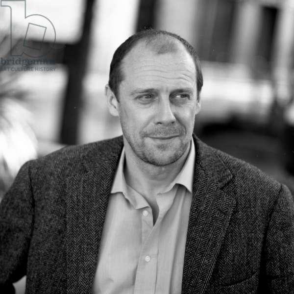 Alain Soral, 2004 (b/w photo)