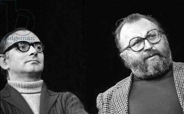 Sergio Leone et Ennio Morricone