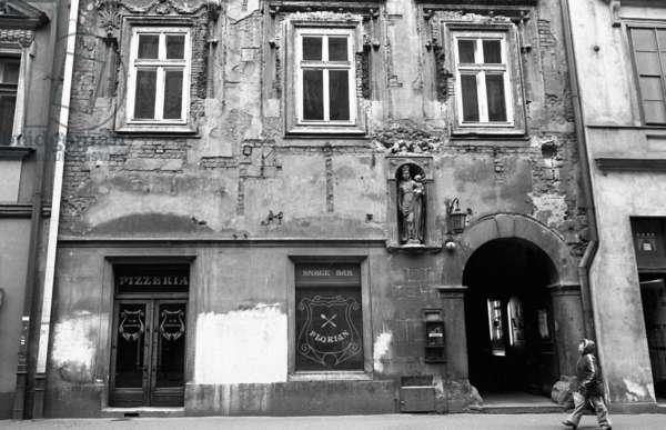 Krakow, Madame Gradis, 1982 (b/w photo)