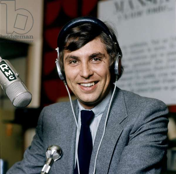 Jean Pierre Foucault, born in 1947, French radiohost in the 70's (photo).
