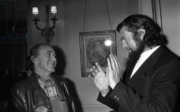 Michel Butor et Julio Cortazar (photo)
