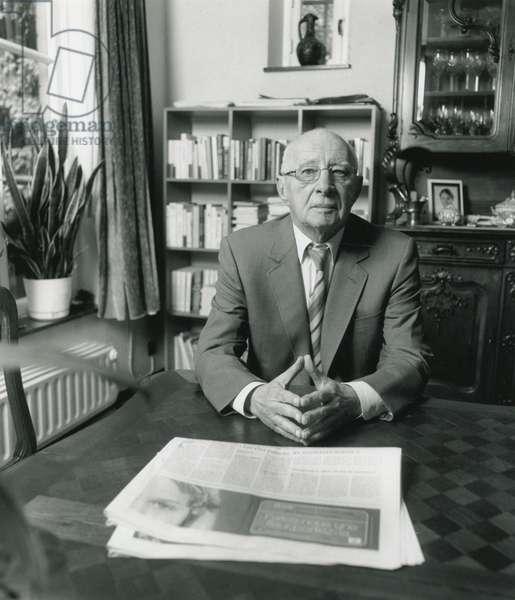 Pol Vandromme (b/w photo)