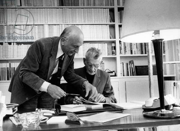 Samuel Beckett et Jerome Lindon