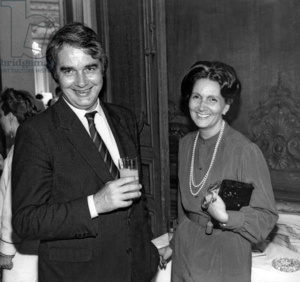 Claude Durand and his wife Carmen