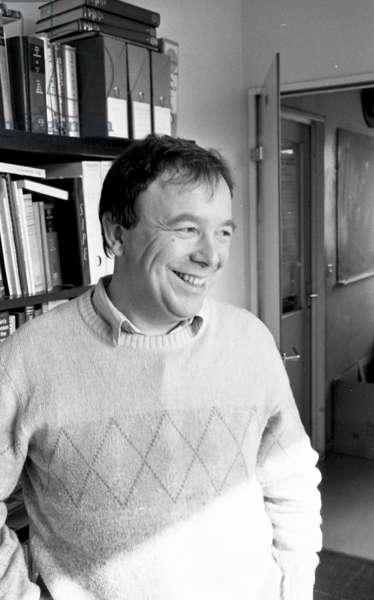 Jean Pierre Changeux, 1983 (b/w photo)
