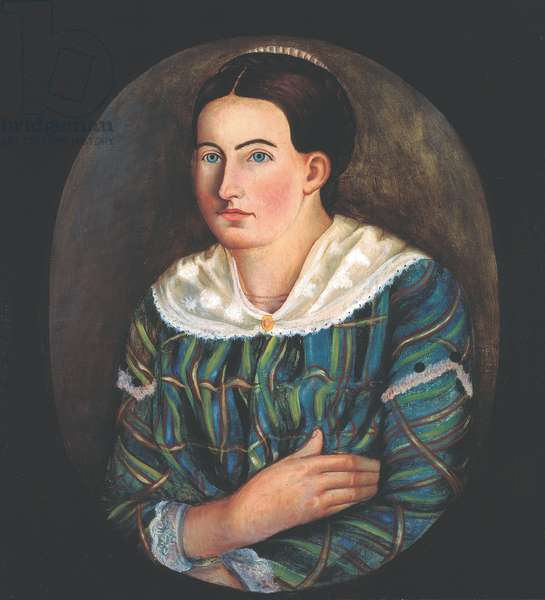 Portrait of Rebecca Bowen, 1849 (oil on canvas)