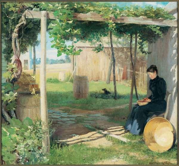 September (oil on canvas)