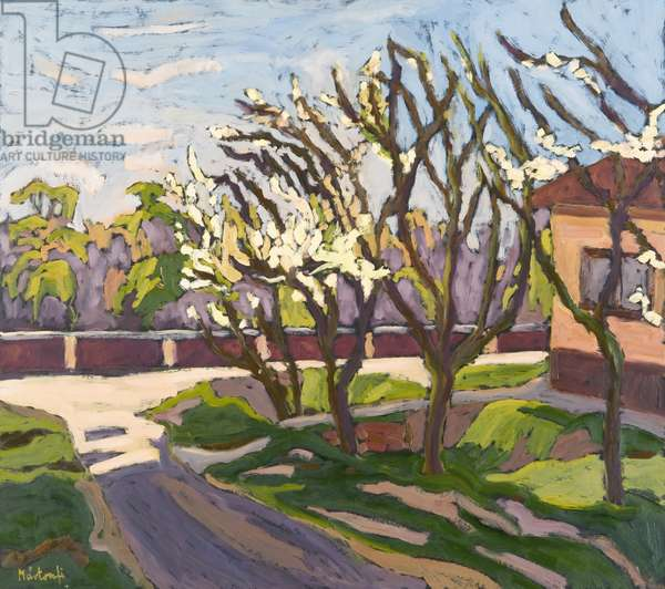 In Spring Light, 2008 (oil on board)