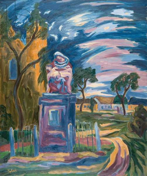 Village Pieta, 2007 (oil on board)