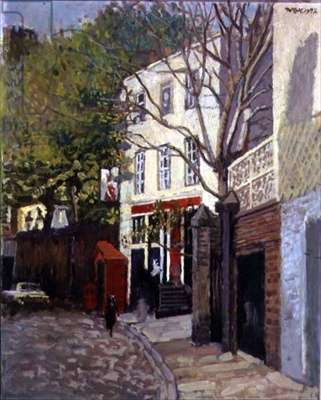 The Grenadier, 1972 (oil on canvas)