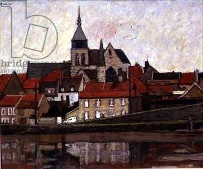 Damery-sur-Marne, 1985 (oil on canvas)