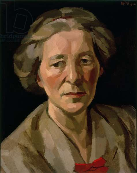 Portrait of Willa Muir, 1944 (oil on board)