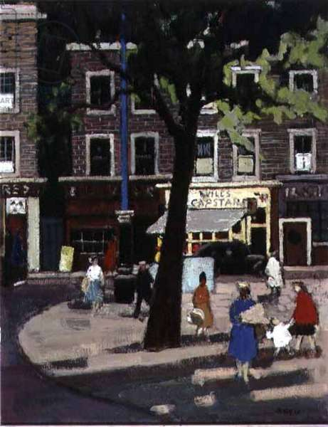 Orange Square, 1959 (oil on canvas)
