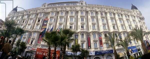 Cannes Film Festival 1993. Carlton Hotel on the Croisette boulevard