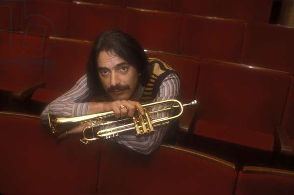 Italian jazz trumpeter Enrico Rava, about 1985 (photo)