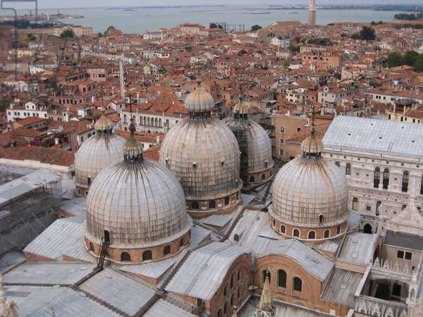Venice, domes of St. Mark's Basilica