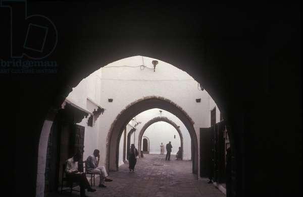 Morocco, Casablanca. Arcade