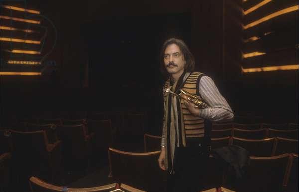 Italian jazz trumpeter Enrico Rava, about 1985/Il trombettista jazz Enrico Rava, 1985 circa -