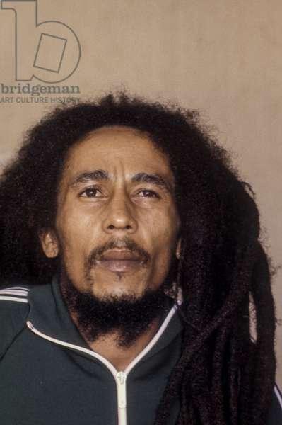 Bob Marley in Milan on June 27, 1980
