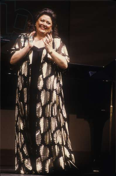 British soprano Margaret Price (about 1985)/Il soprano Margaret Price (1985 circa) -