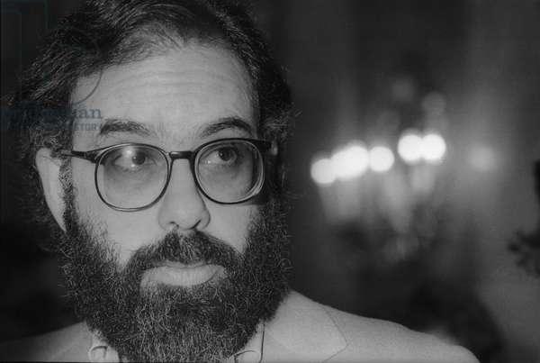 Rome, 1979 U.S. director Francis Ford Coppola/Roma, 1979.