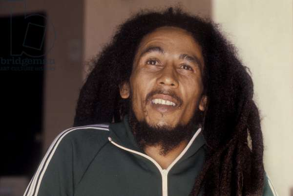 Reggae musician BOB MARLEY, 1980/BOB MARLEY, musicista reggae, 1980