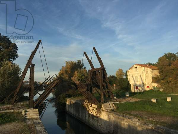 The Pont Van Gogh, a replica of the Langlois Bridge (French: Pont de Langlois) which was a drawbridge in Arles, France, subject of several paintings by Vincent van Gogh in 1888