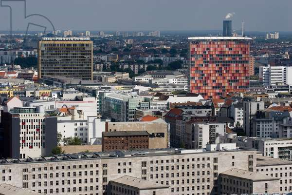 Berlin panorama from the Daimler building in Potsdamer Platz, 2005
