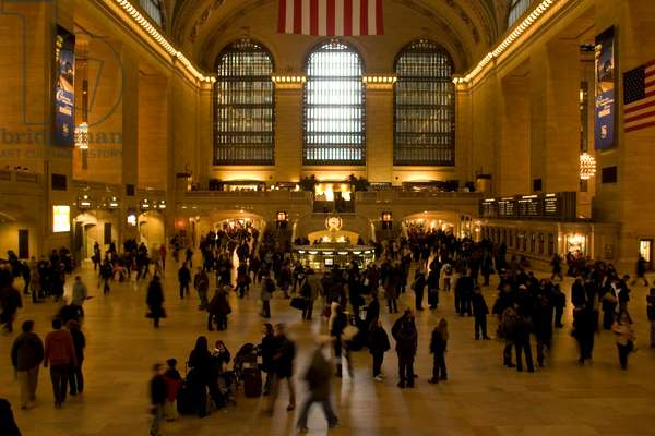 New York City, 2008. Grand Central Terminal