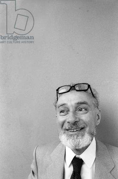 Italian writer Primo Levi (about 1980)/Lo scrittore Primo Levi (1919-1987) (1980 circa) -