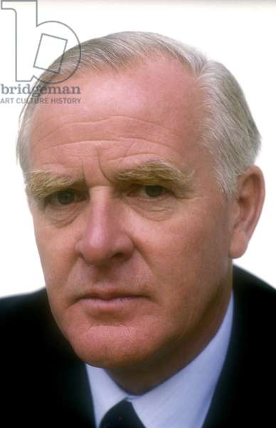 Portrait of the British writer John Le Carre around 1999.