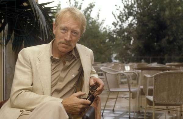 Actor MAX VON SYDOW, Venice about 1980/MAX VON SYDOW, attore, Venezia 1980 circa