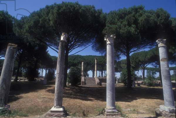 Ancient Ostia, Temple of Ceres