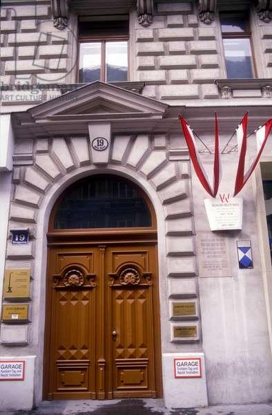 House of Sigmund Freud in Vienna