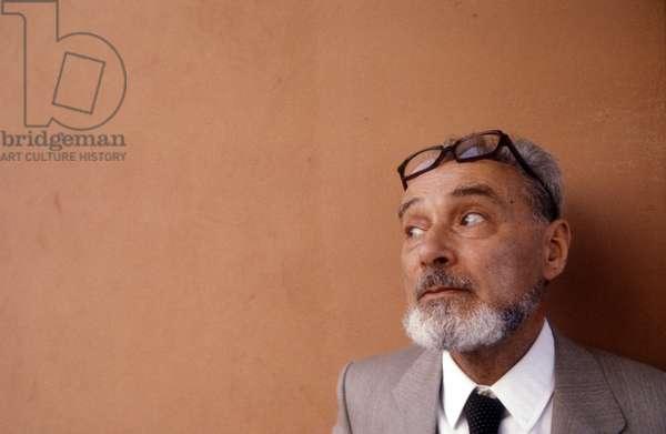 Italian writer PRIMO LEVI/PRIMO LEVI, scrittore